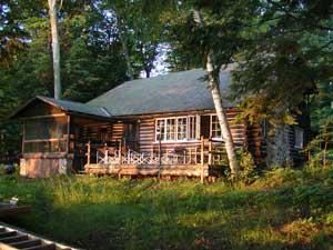 Captivating Glen Lake, Glen Arbor, MI, 1936 Log Cabin ...